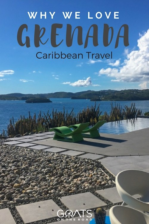 Housesitting in Grenada with text overlay why we love Grenada Caribbean Travel