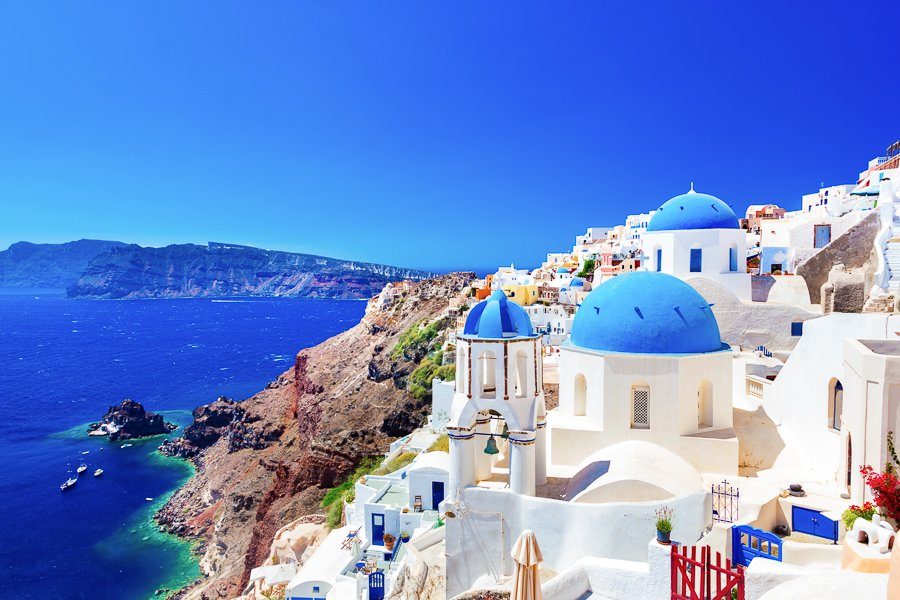 best places to visit in greece santorini