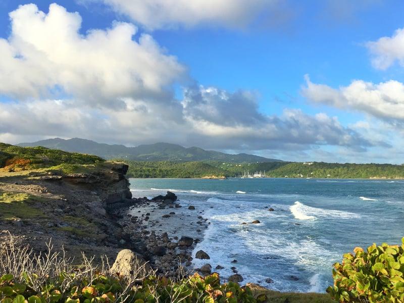 living in grenada caribbean coastline