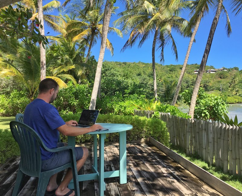 living and working remotely