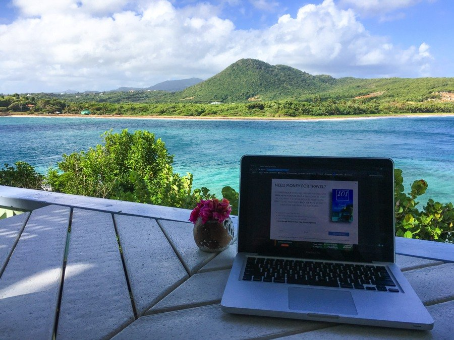 nomad life working abroad in the caribbean