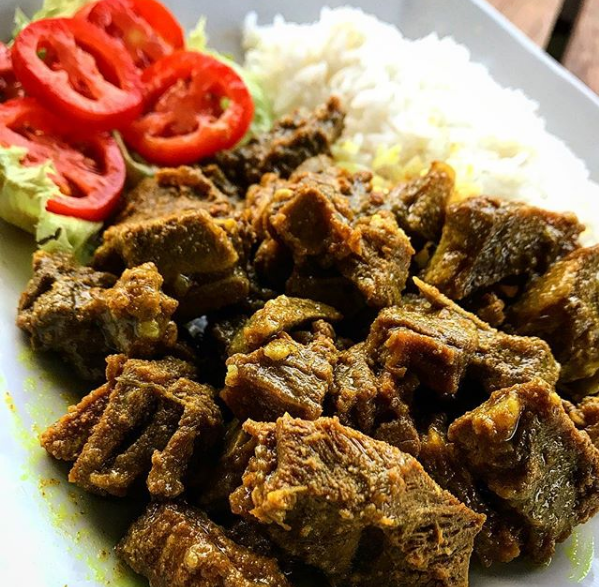 Jamaican curry goat is a must try jamiacan cuisine