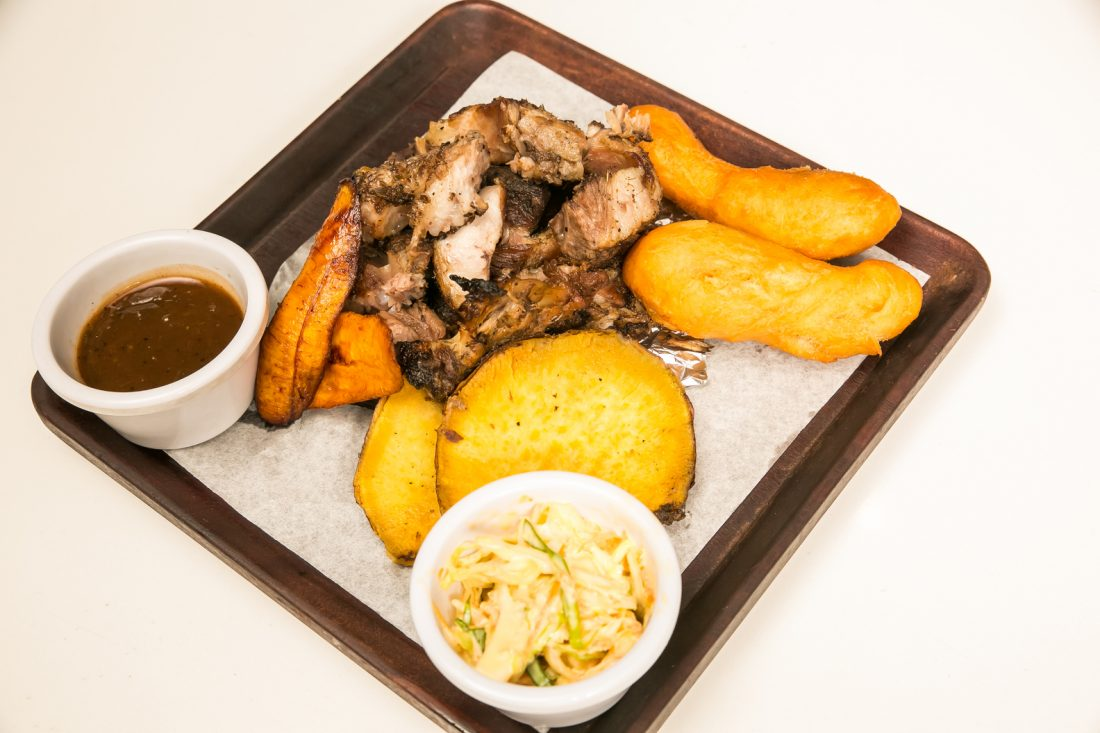 must try jamaican cuisine Jamaican Jerk Pork
