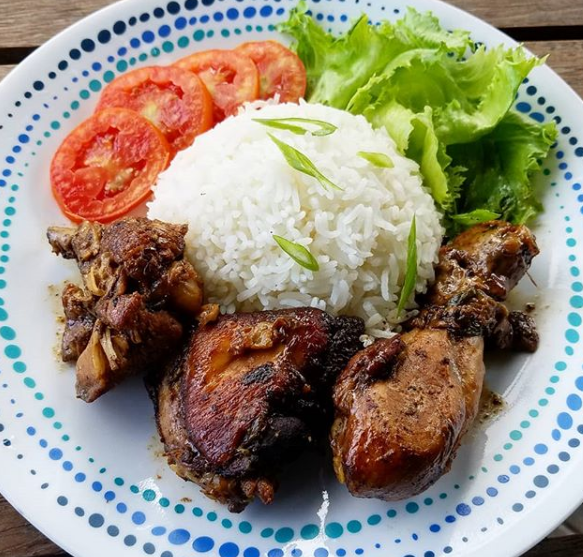 Jamaican cuisine must try meal the Stew Chicken