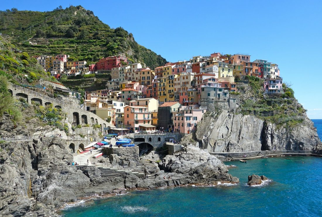 Cinque Terre is a top place to visit in Italy