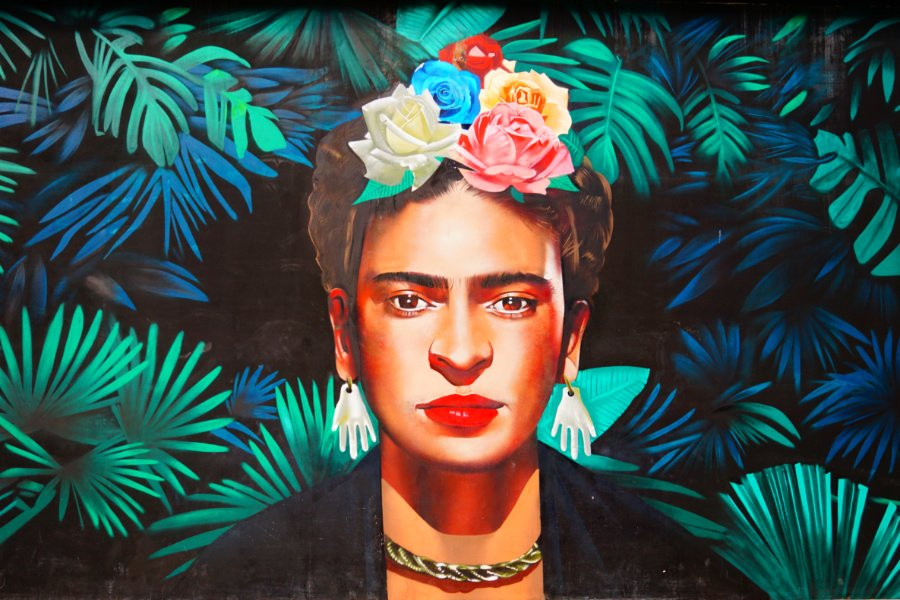 Frida Kahlo Museum in playa del carmen is a great thing to see