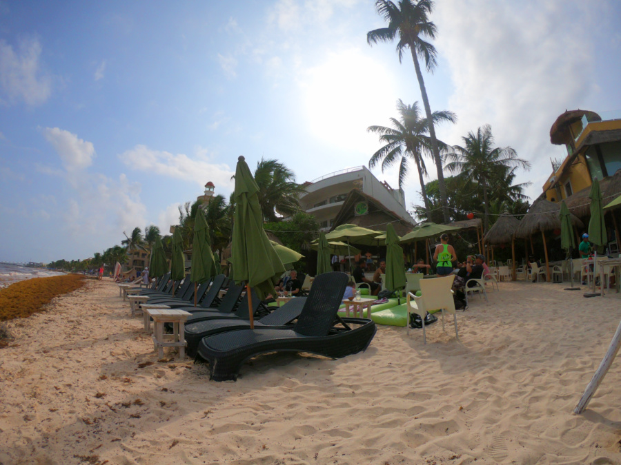 Lido's Beach Club in playa del carmen