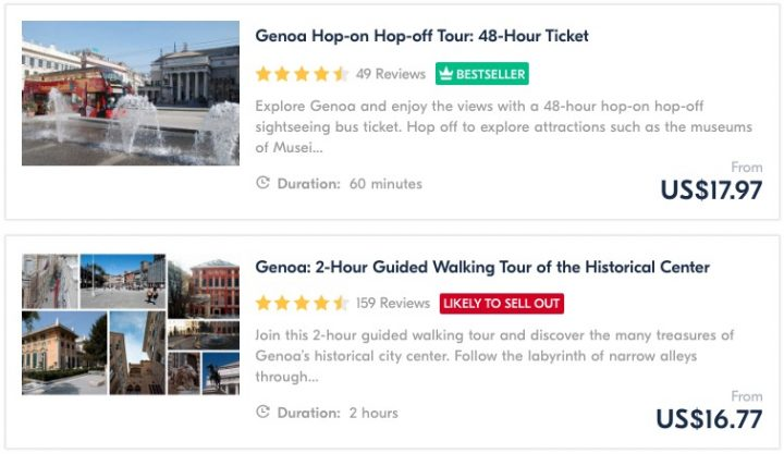 Get Your Guide Genoa Tours