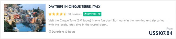 Places To Visit in Italy Tours Cinque Terre