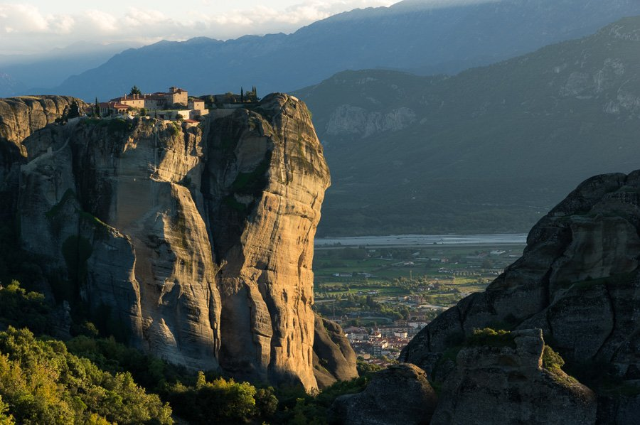 Holy Trinity meteora monasteries greece