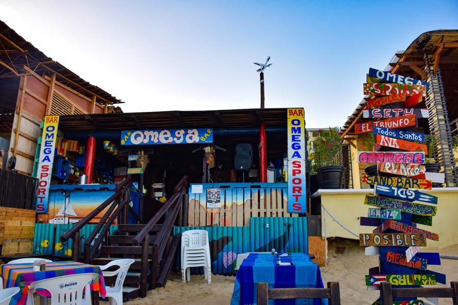 beach bars are one of the best things to do in cabo san lucas