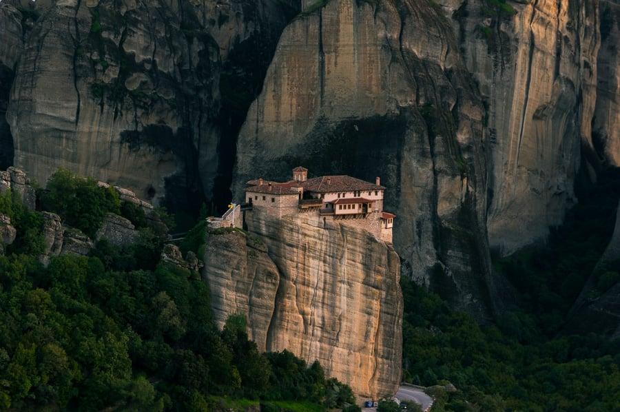 Meteora monasteries Rousanou