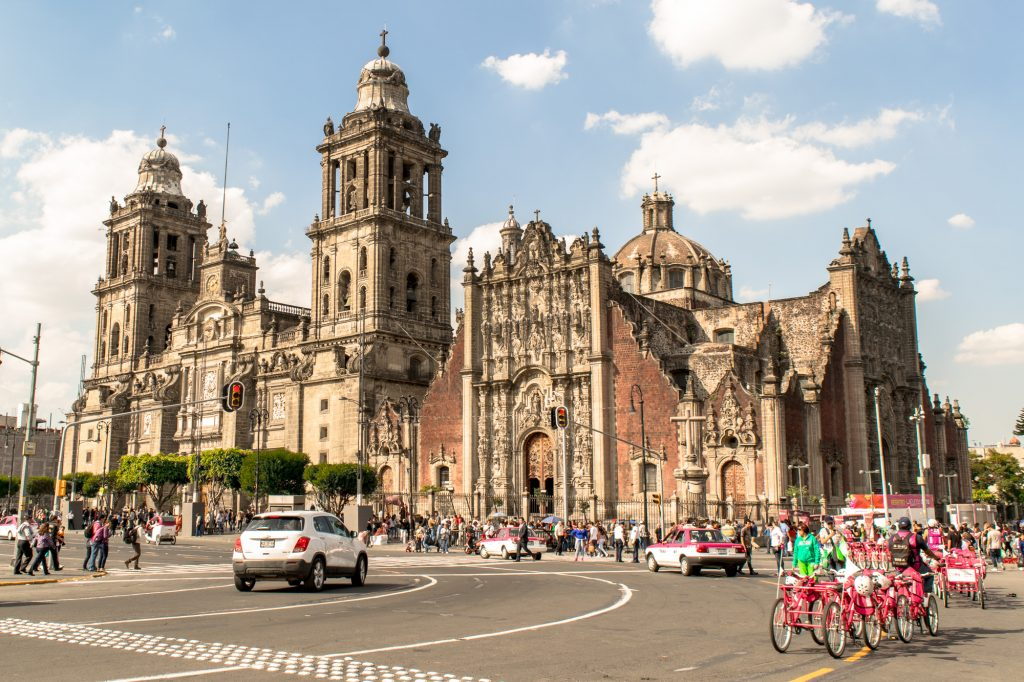 visiting the zocalo is one of the top things to do in mexico city