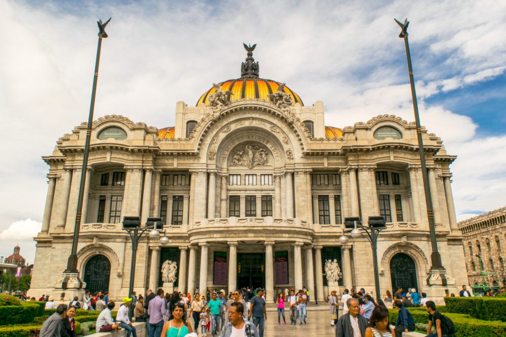 bellas artes is one of the best things to do in mexico city