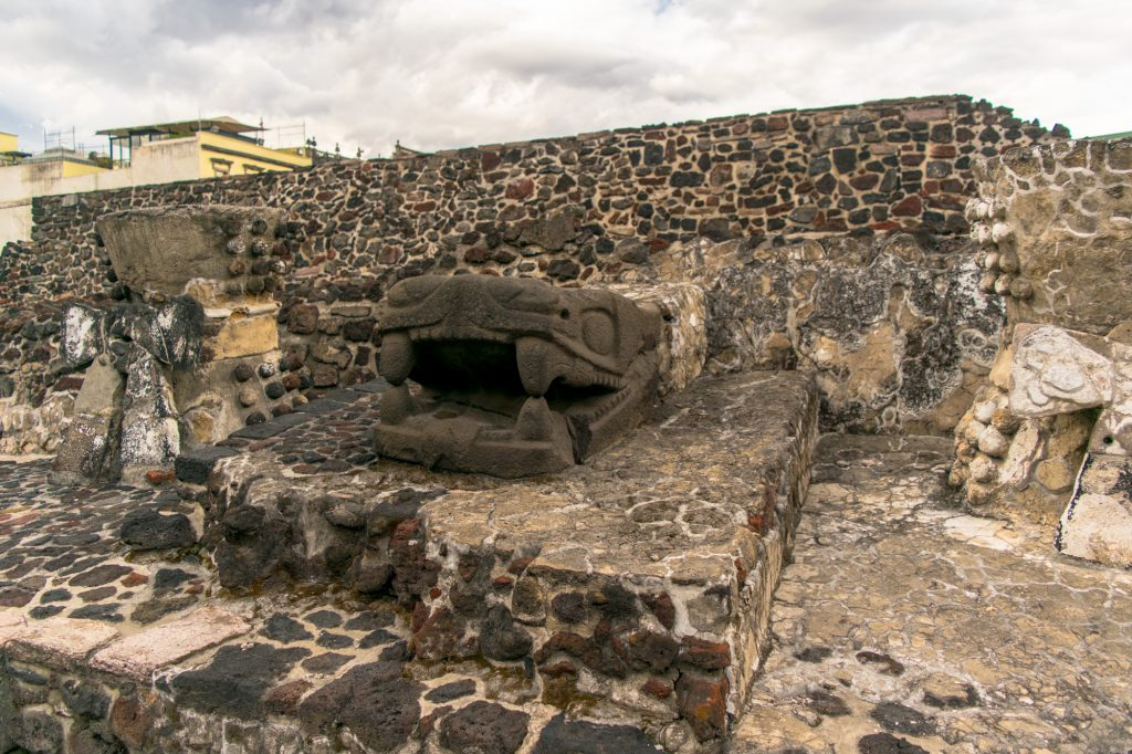 visiting templo mayor is one of the things to do in mexico city