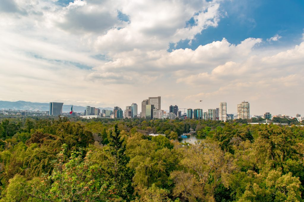 chapultapec views are the best things to do in mexico city