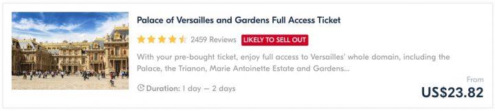 Places in France & Paris - Versailles Tour Guide
