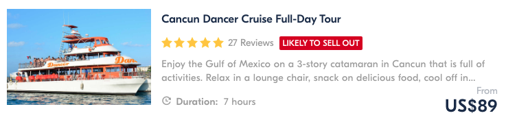 things to do in cancun join a cruise