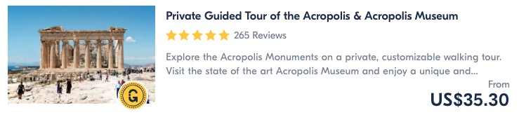 join a guided tour of the acropolis is the best things to do in athens