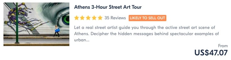 best things to do in athens join a street art tour