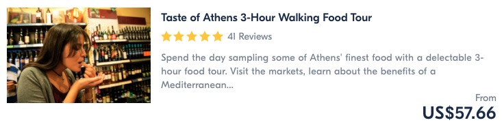 best things to do in athens go on a food tour