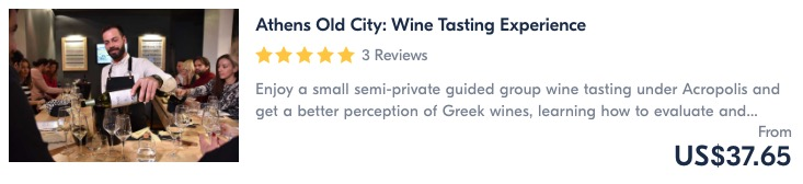 wine tasting in athens is one of the best things to do in athens and in greece