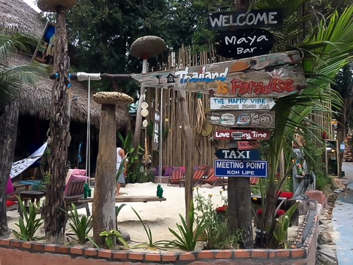 walking street is one of the things to do in Koh Lipe