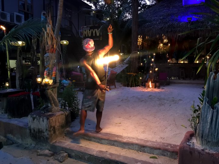 Fire shows - one of the things to do in Koh Lipe