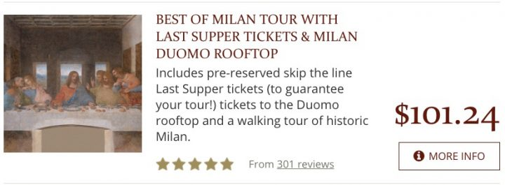 Places to Visit in Italy Milan Tours
