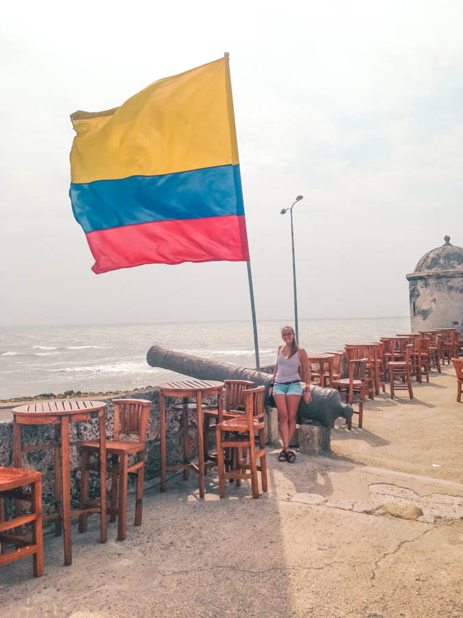 cafe del mar is one of the best places in cartagena to have coffee or a drink