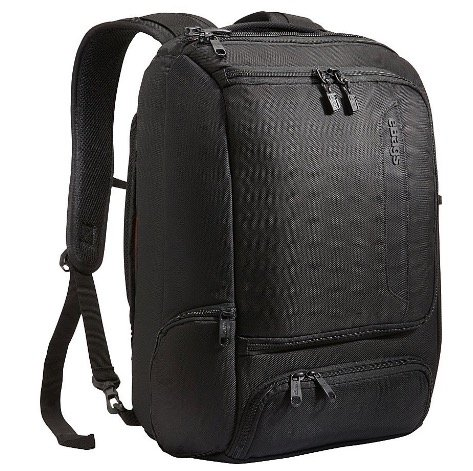 Backpack to carry electronics to co-working space