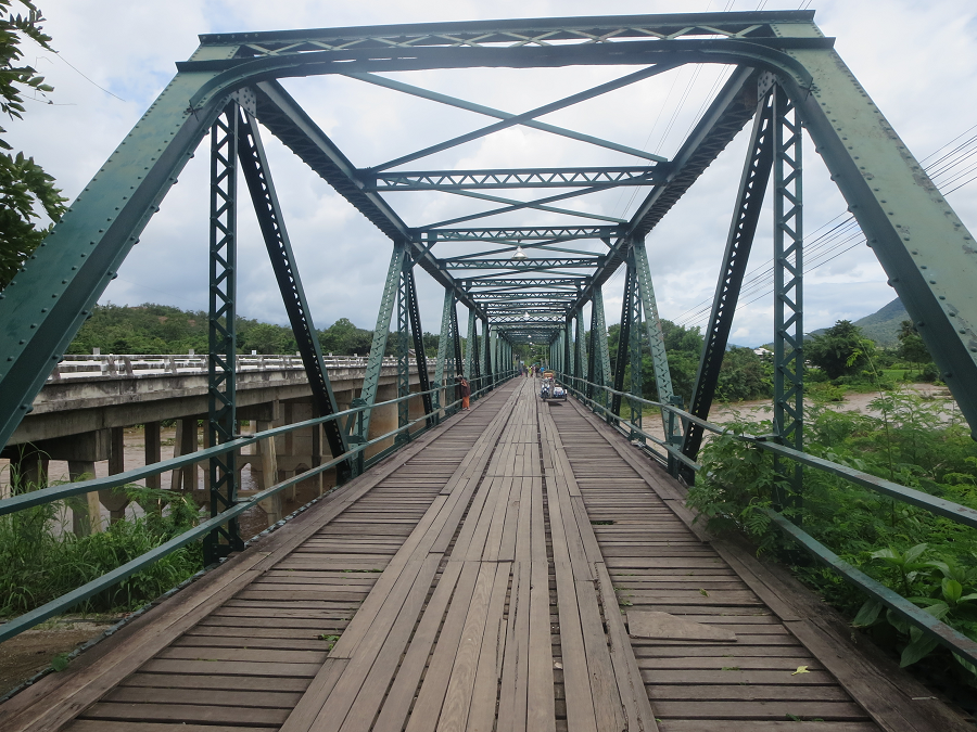 the WWII memorial bridge in pai things to do in pai