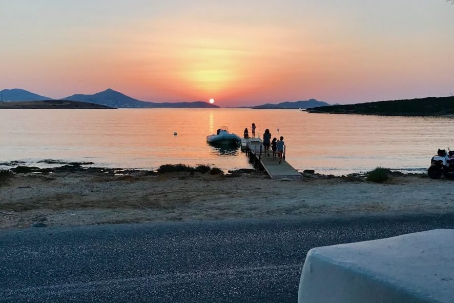 watching sunset is one of the most popular things to do in paros