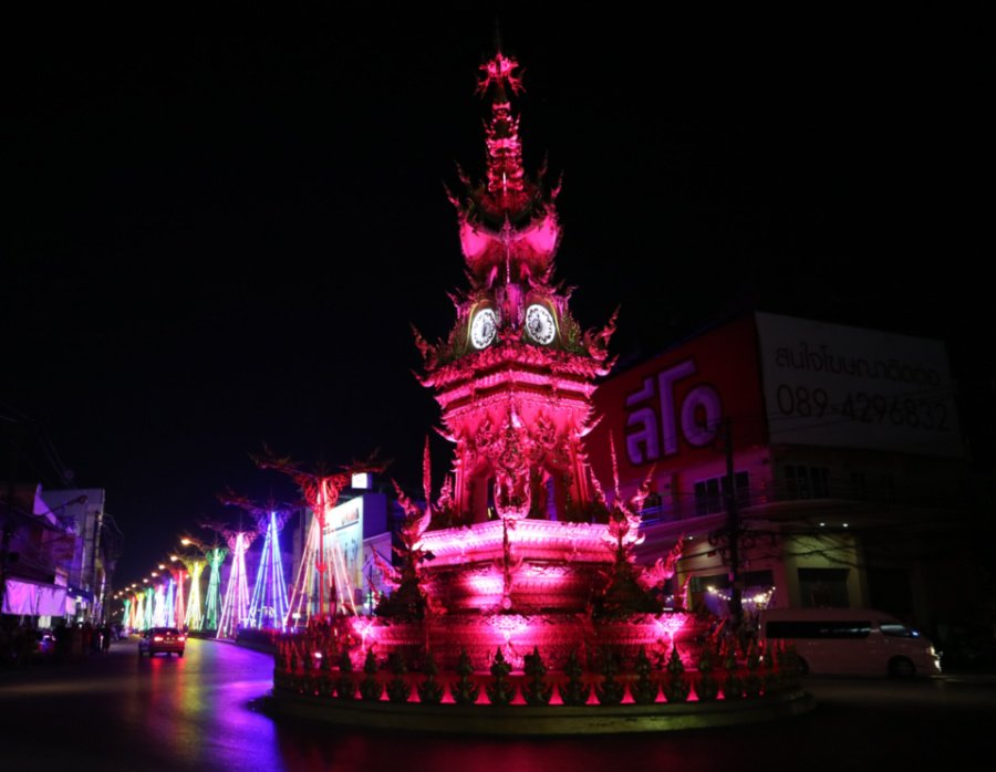 visiting the Chiang Rai Clock Tower is one of the top things to do in chiang rai