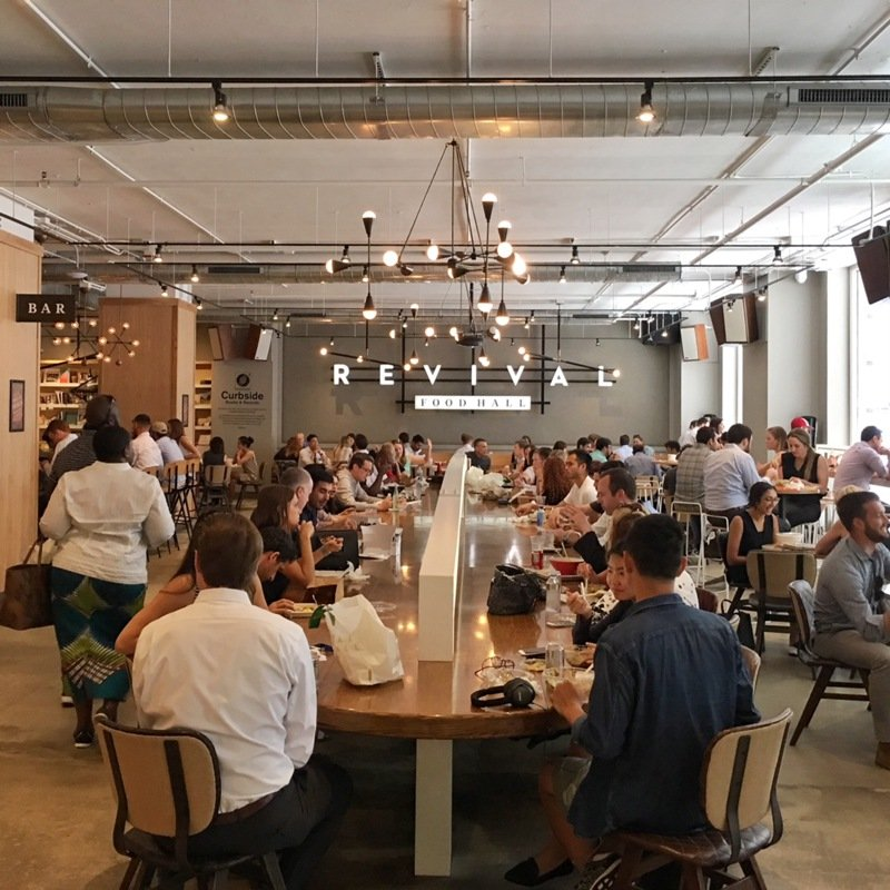 best places to eat in chicago the revival food hall in the loop