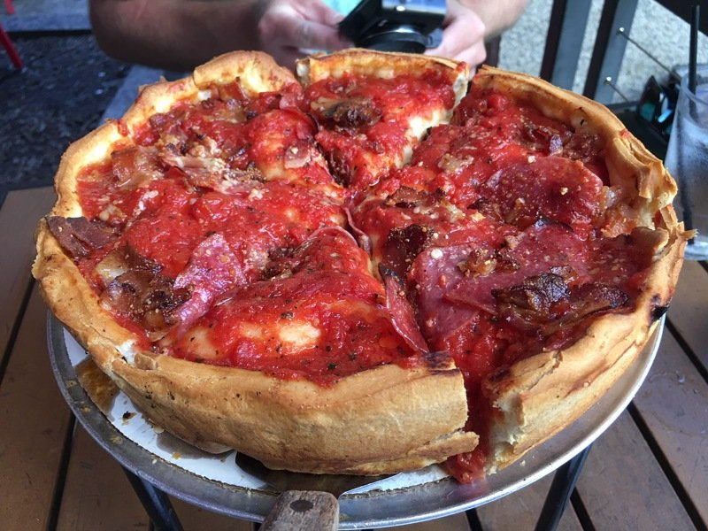 best places to eat chicago pizza