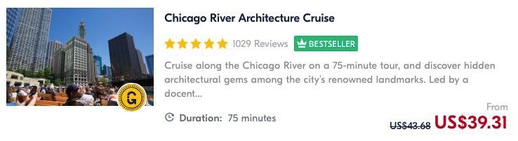 architecture river boat tour chicago