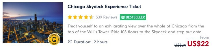 visiting the chicago skydeck is one of the best things to do in chicago