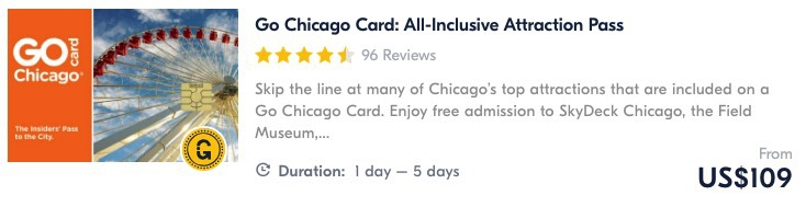 go chicago card things to do in chicago