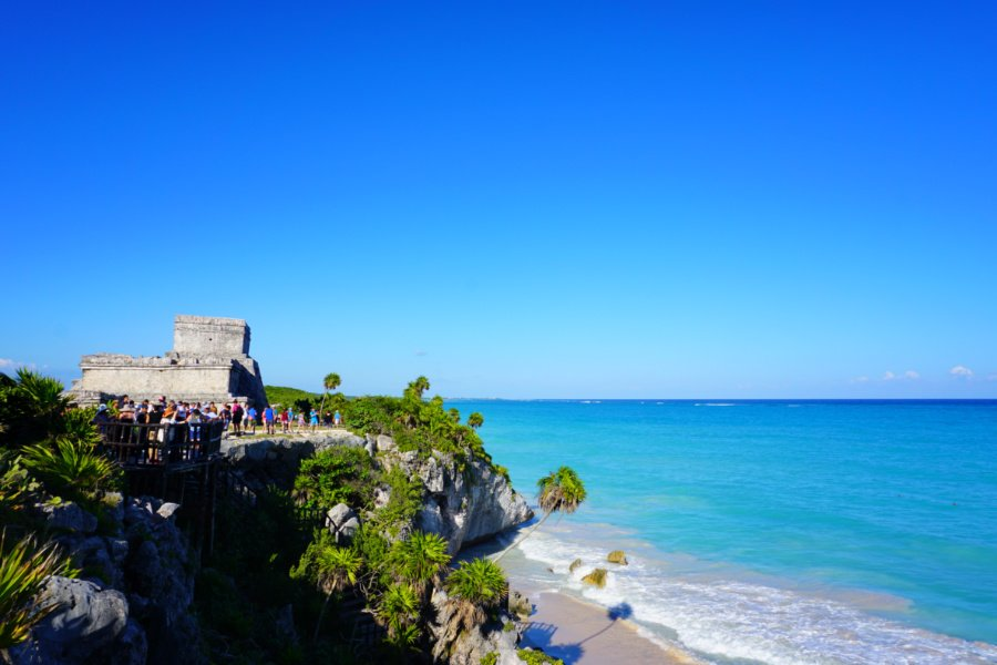 Tulum Ruins one of the best things to do in Tulum Mexico