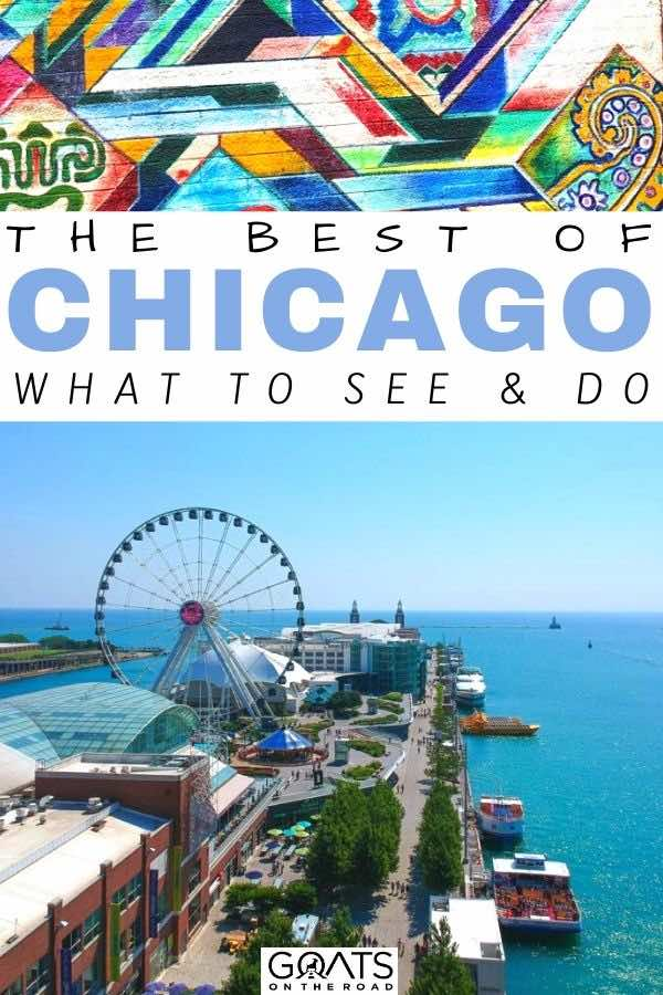Chicago with text overlay with text overlay the best of Chicago what to see and do