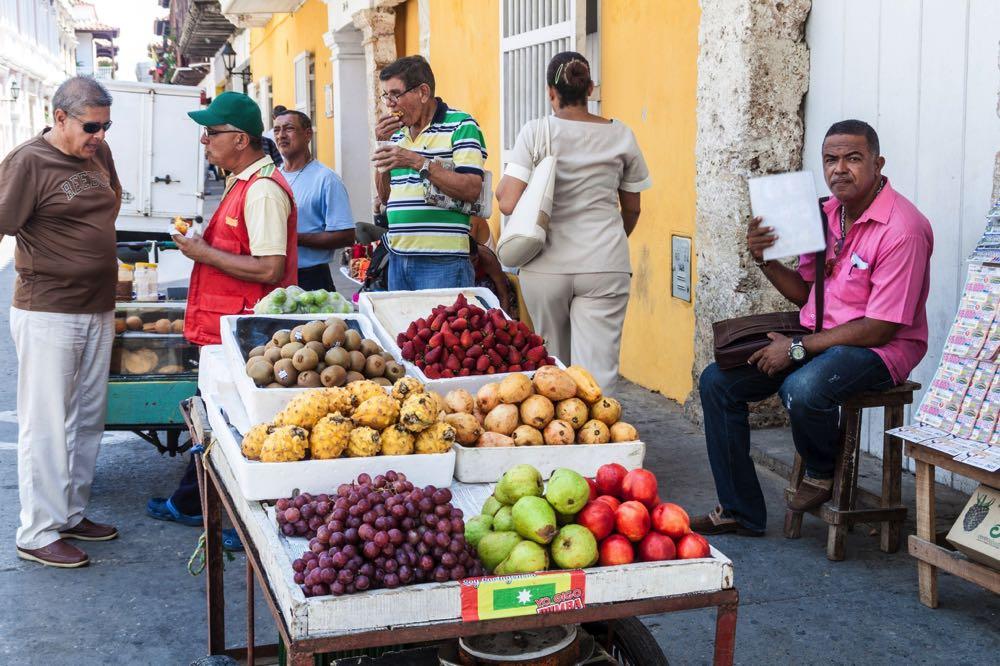 street food cartagena