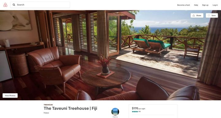 Airbnb Tree House Fiji No Airbnb Discount Long Stay