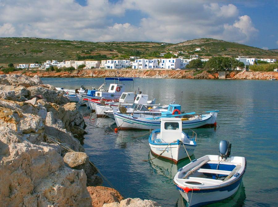 visit Ambelas village in paros greece