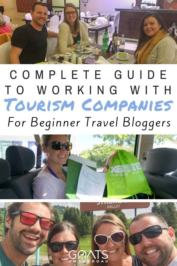 Press trips with text overlay Complete Guide To Working With Tourism Companies