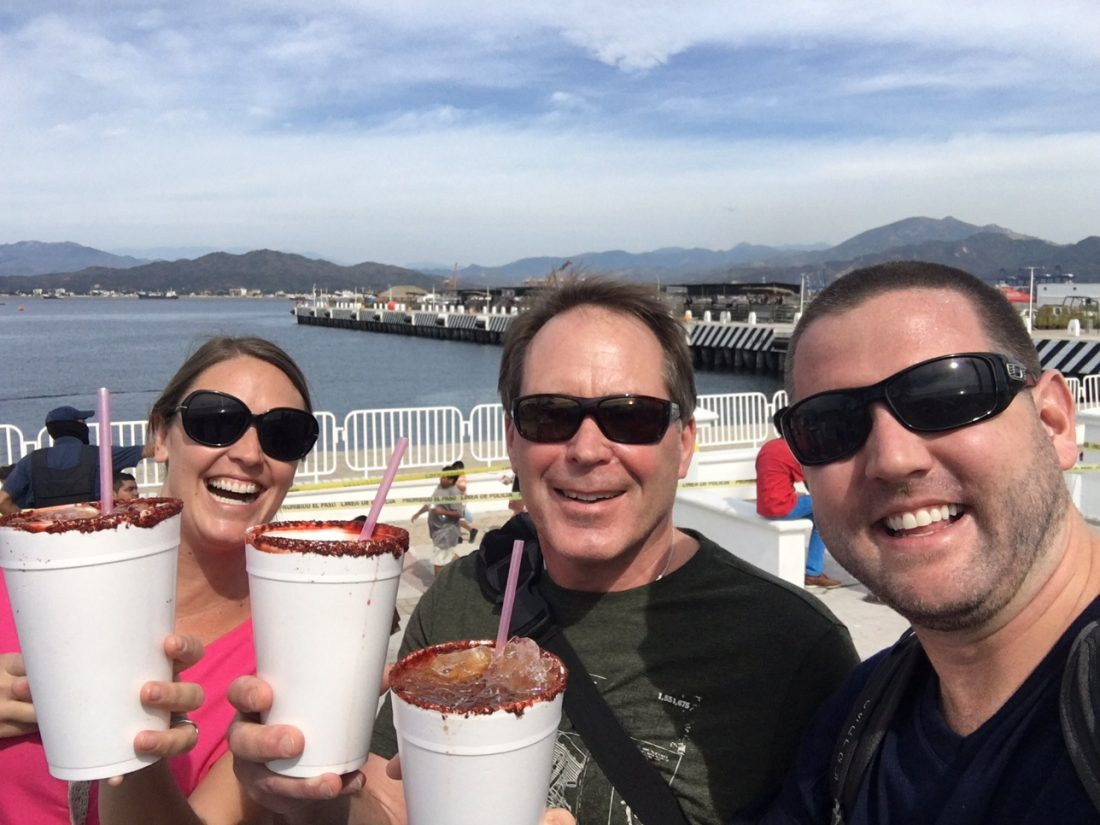 trying a michelada is one of the things to do in mexico