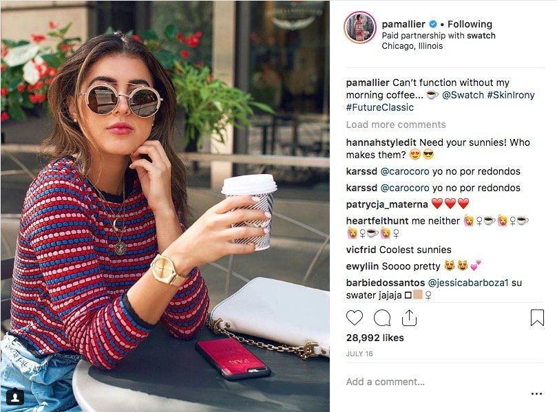 get paid to travel as a social media influencer