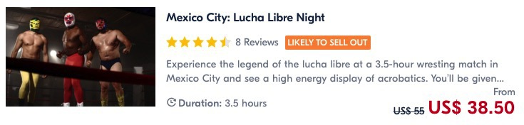 book a tour for lucha libre in mexico one of the things to do in mexico