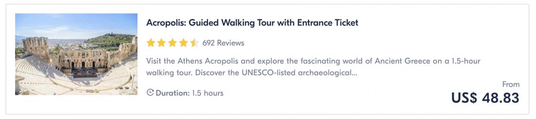 things to do in athens acropolis tour