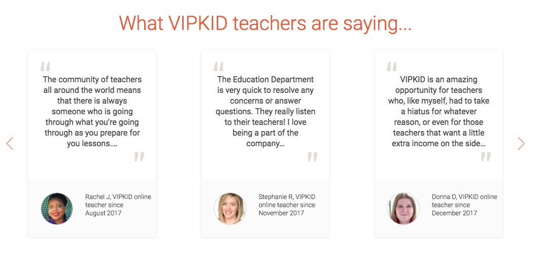 What VIPKid Teachers Say